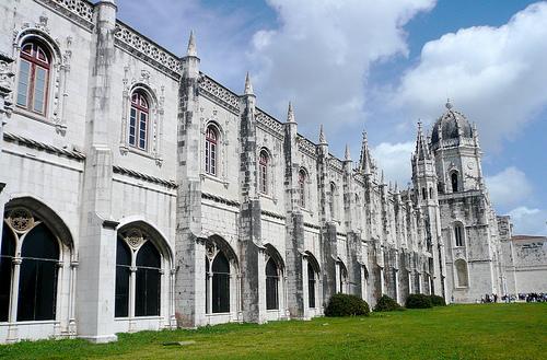 リスボンのジェロニモス修道院とベレンの塔の画像 p1_34