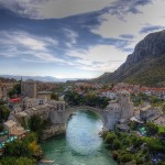 モスタル旧市街の古い橋地区 / Old Bridge Area of the Old City of Mostar